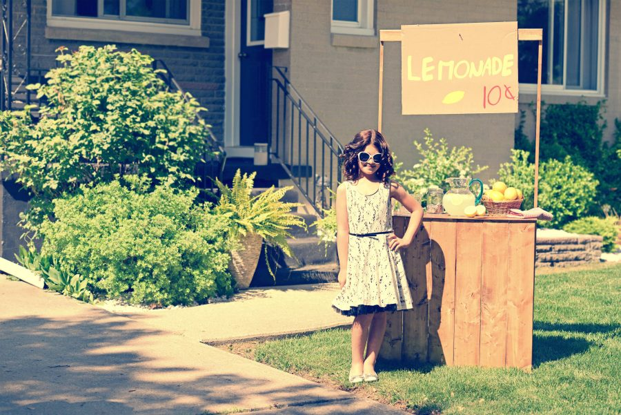 lemonade stand key messages