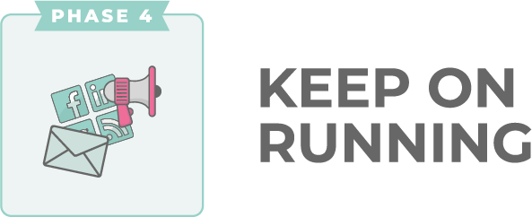 Keep on Running logo